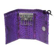 Фиолетовая ключница из питона